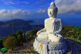 Sommerretreat i Phuket Thailand statue